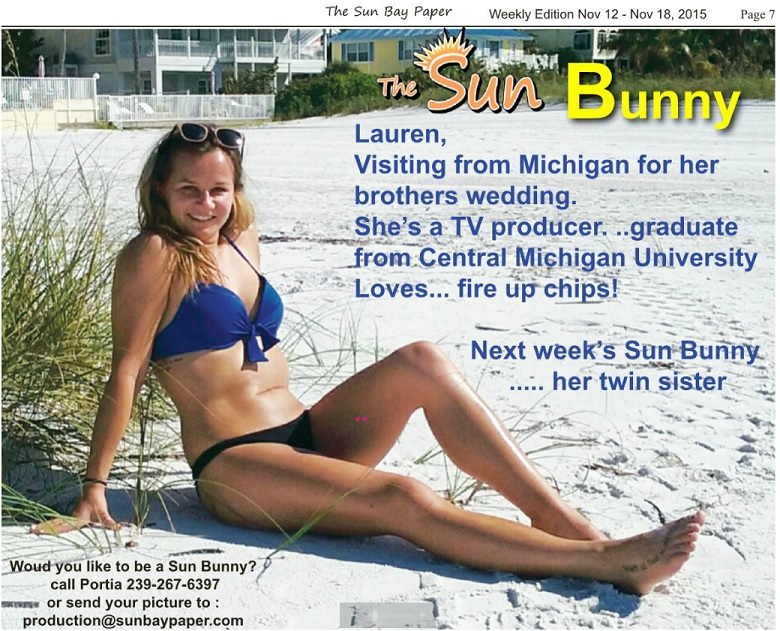 lauren sun bunny issue 11.12