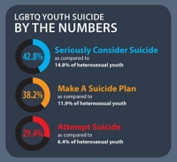 LBGBQ Youth Suicide: a serious issue in USA