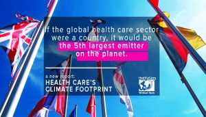 Health Care's Big Global Climate Footprint