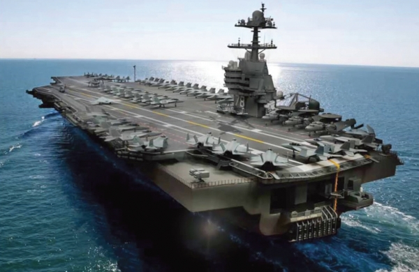Meet the US Navy's new $13 billion aircraft carrier