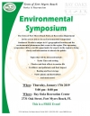 Fort Myers Beach's First Environmental Symposium
