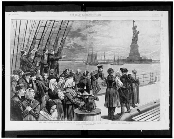 DEBATES ABOUT IMMIGRATION OLDER THAN THE UNITED STATES ITSELF