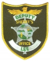 Lee County Sheriff's Office Patch for Deputies