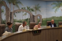 The Fort Myers Beach Town Council held their first meeting since June in the newly renovated Council Chambers in their Town Hall.
