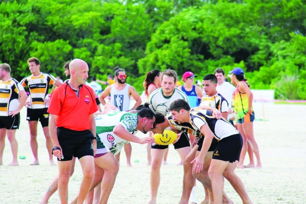 Barefoot Rugby Tournament August 4th on the Beach