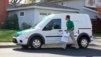 Orders placed through Google's Shopping Express service are transmitted to the closest local store where it's picked off the shelf for delivery.