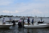 Docking: The Fillet and Release Tournament had 106 boats participating in it this year, which created quite a crowd at Matanzas on the Bay when the deadline for weigh-in neared.