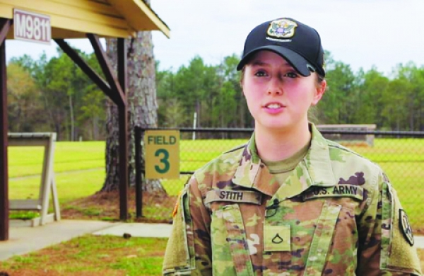 THE PATRIOT PAGE: Face of Defense: Shooting Toward Success
