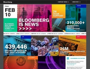 Sun Bay Paper To Affiliate With Bloomberg News Service