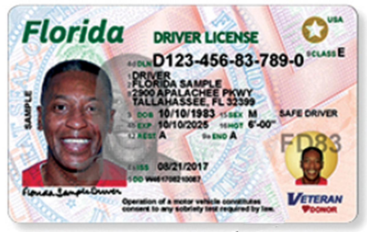Drivers Tuesday Begin Florida's Card And Changes License Id