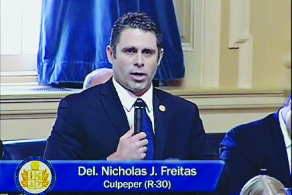 Transcript: Virginia Delegate Nick Freitas Speech on Floor of House of Delegates Goes Viral