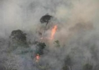 Raging Amazon Forest Fire Menaces Uncontacted Tribe