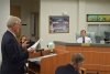 Attorney Ron Weaver attempts to dissuade the Bonita Council from moving forward with fracking ban hearings.