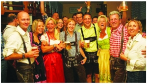Nothing screams Octoberfest like Lederhosen, whether you dress up for the festival or not, plan to join in on the singalongs throughout the event,  the words will be displayed so everyone can be part of the fun!